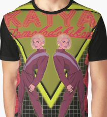 Katya Zamolodchikova - Pants on the runway Graphic T-Shirt