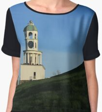 Halifax Citadel Clock Chiffon Top