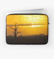 Farm Tree At Sunset  Laptop Sleeve