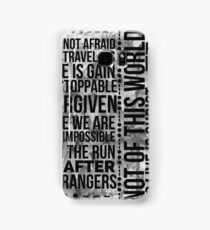 unstoppable  Samsung Galaxy Case/Skin