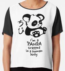 Ich bin ein süßer kleiner Panda Chiffontop