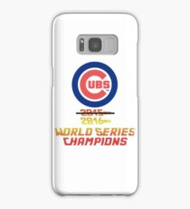 Cubs 2016 World Series Champs Samsung Galaxy Case/Skin