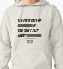 """Fight Club, """"The first rule is"""" Pullover Hoodie"""