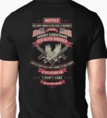 Merry Christmas God Bless America T-Shirt