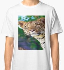 T Shirt Leopard Mountain Cheetah Safari Jungle Zoo Animal Classic T-Shirt