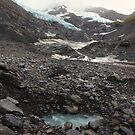 On Byron Glacier by zumi