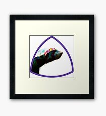 Prettiest badger at the ball Framed Print