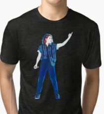 Christine and the queens singing Tri-blend T-Shirt