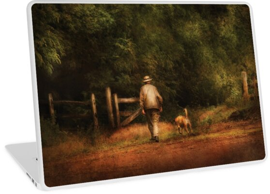 A man and his best friend by Michael Savad