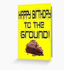 Die einsame Insel - Alles Gute zum Geburtstag! Grußkarte