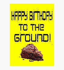 The Lonely Island - Happy Birthday To The Ground! Photographic Print