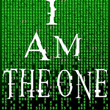 I Am The One - The Matrix by barrelroll1
