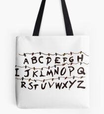 Stranger Things Letters Tote Bag