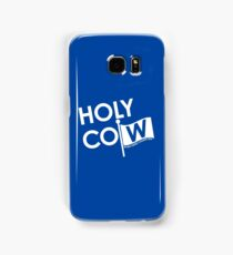 holy cow - cubs world series champs Samsung Galaxy Case/Skin