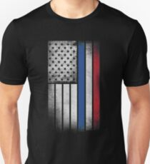 Dutch American Flag - Half Dutch Half American Unisex T-Shirt