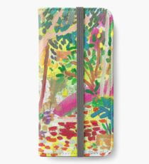 Fitzroy Gardens iPhone Wallet/Case/Skin