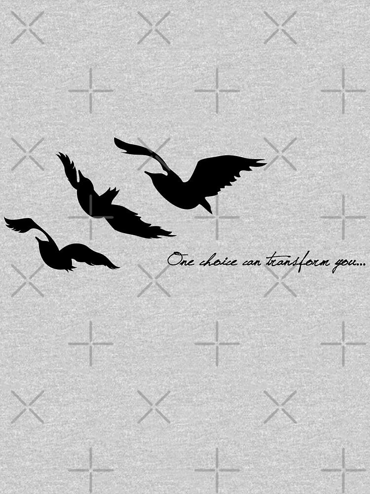 Abweichend - One Choice Ravens Tattoo von BadCatDesigns