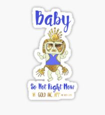 Baby Blue - So Hot Right Now Sticker