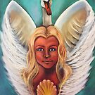 February Cleansing Goddess by Michelle Potter