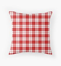 Menzies Clan Scottish Tartan Plaid Pattern Throw Pillow