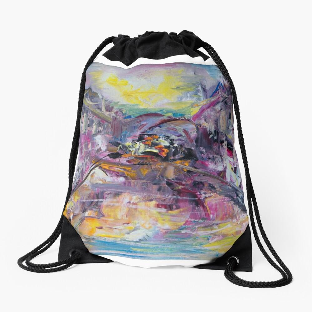 Venice Drawstring Bag Front