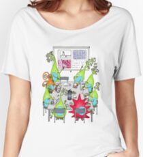 Brain Cell Lab Meeting Women's Relaxed Fit T-Shirt