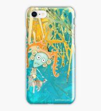 Bella Boo Blue iPhone Case/Skin