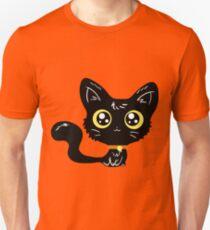 Adorable Black Cat T-Shirt