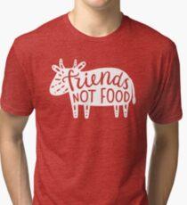 Friends not food!  Tri-blend T-Shirt
