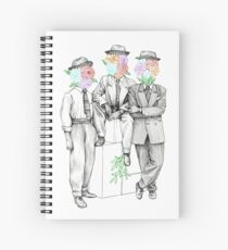 Gangsters in love Spiral Notebook