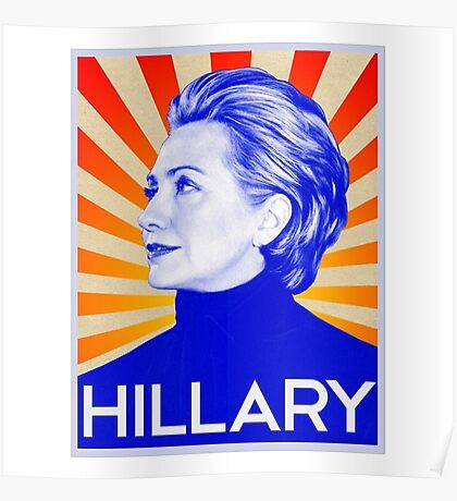 clinton hillary Poster