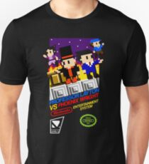 Professor Layton VS Phoenix Wright NES T-Shirt