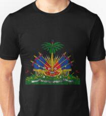 Haitian Coat of Arms Haiti Symbol Unisex T-Shirt