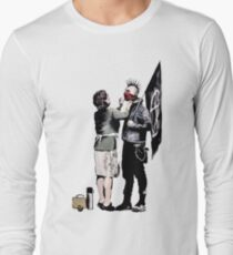 Banksy - Anarchist And Mother Long Sleeve T-Shirt