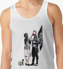 Banksy - Anarchist And Mother Men's Tank Top