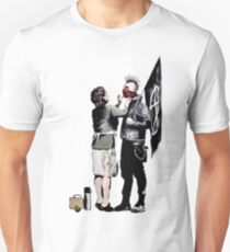 Banksy - Anarchist And Mother Unisex T-Shirt
