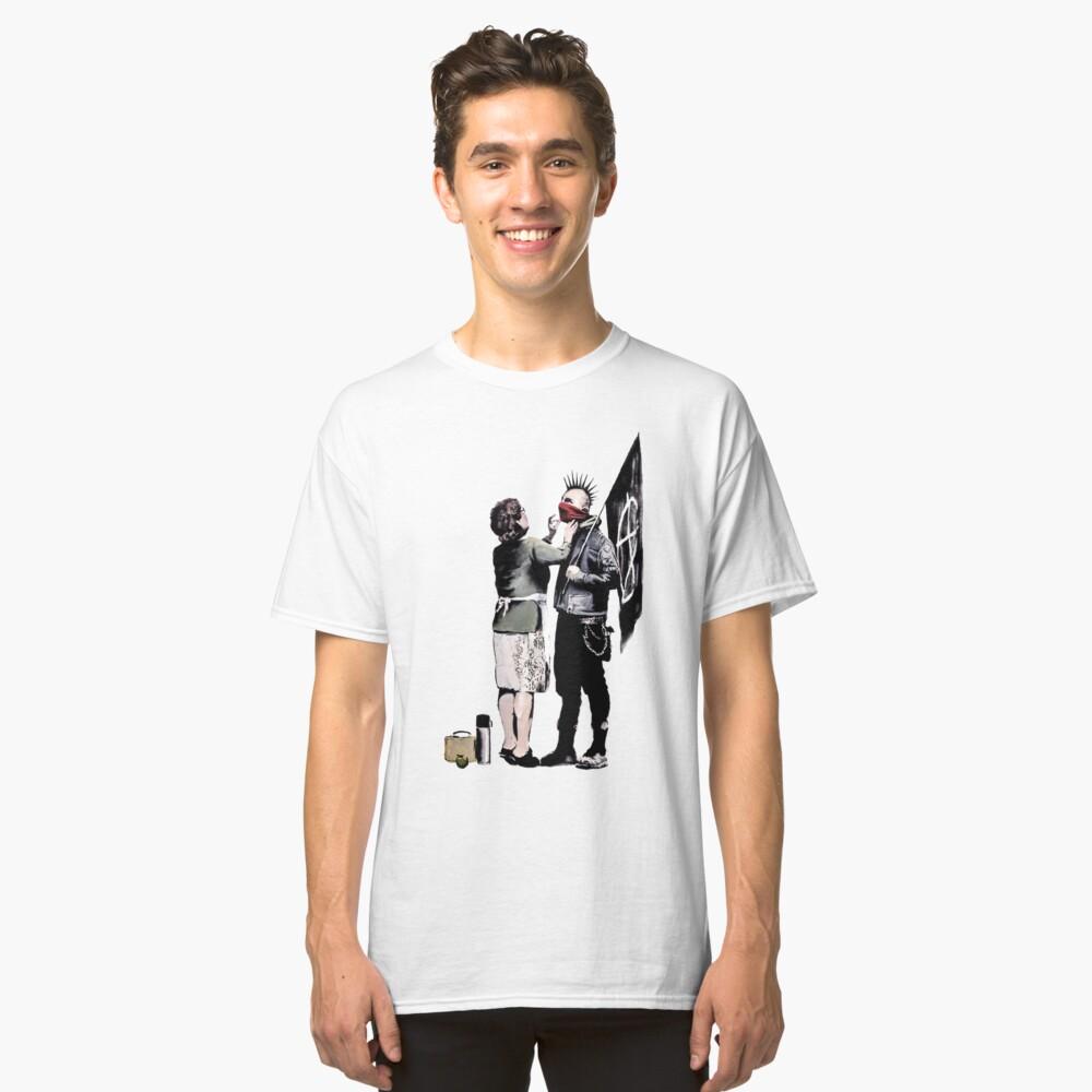 Banksy - Anarchist und Mutter Classic T-Shirt