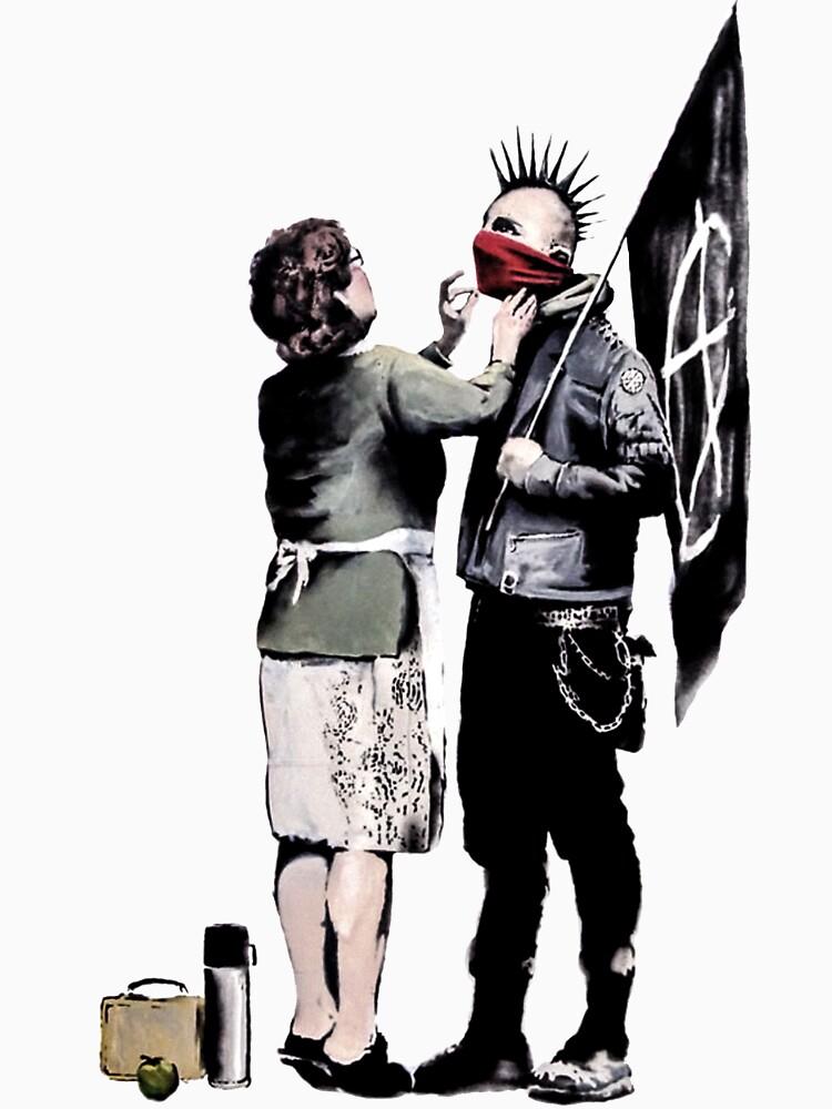 Banksy - Anarquista y madre de streetartfans