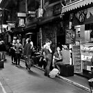 What can I get you? Coffee Laneway – Melbourne Australia by Norman Repacholi