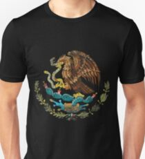 Mexican Coat of Arms Mexico Symbol Unisex T-Shirt