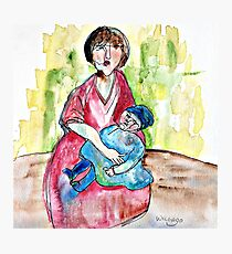 Wildago's Woman with a Baby Photographic Print