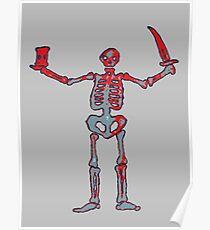 Black Sails - Bloody Skeleton  Poster