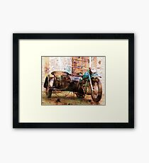 The Backroads of My Mind Framed Print