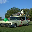 1959 Cadillac Ambulance Ghostbusters Car replica by TeeMack