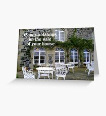 Congratulations on the Sale of your House Greeting Card