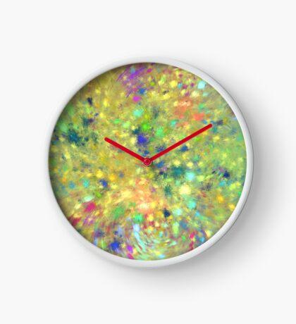 Spring #fractal art Clock