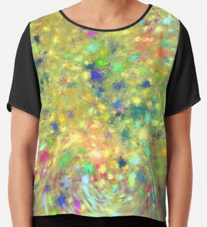 Spring #fractal art Chiffon Top