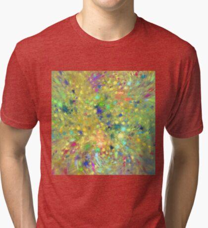 Spring #fractal art Tri-blend T-Shirt