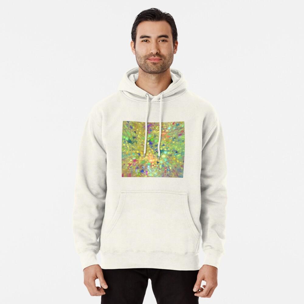Spring #fractal art Pullover Hoodie