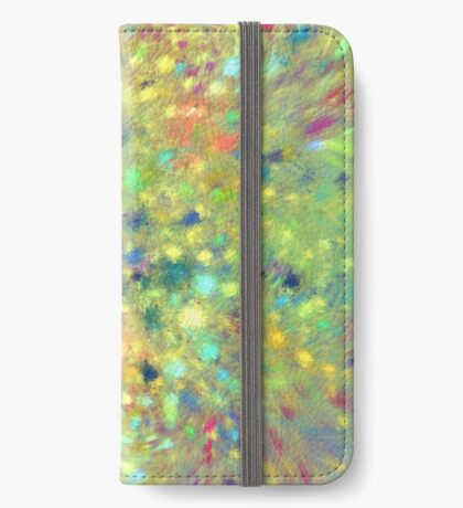 Spring #fractal art iPhone Wallet